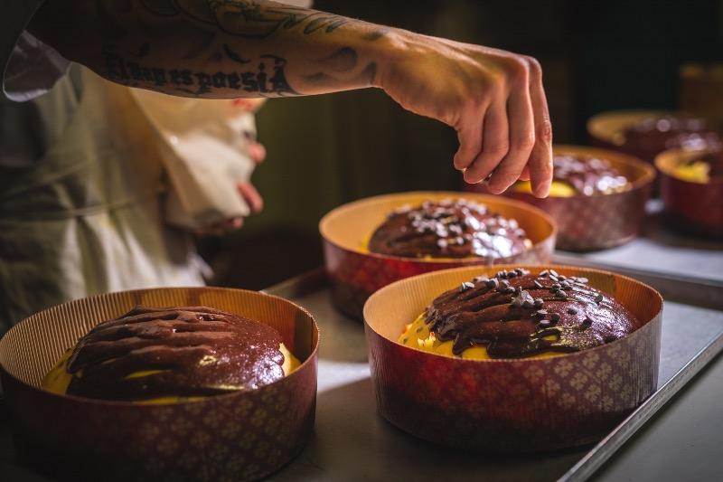 il panettone artigianale al cioccolato per i più golosi
