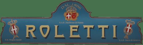 logo pasticceria Roletti San Giorgio canavese