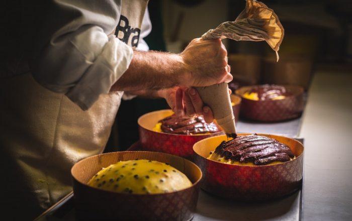 farcitura panettone artigianale al cioccolato