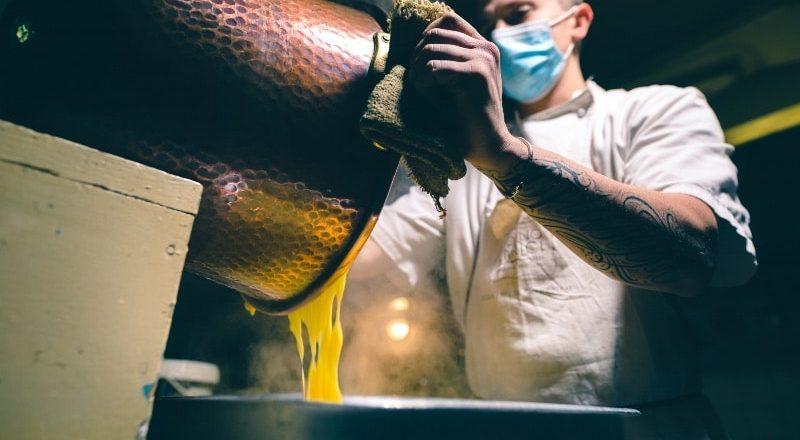 produzione crema pasticciera artigianale